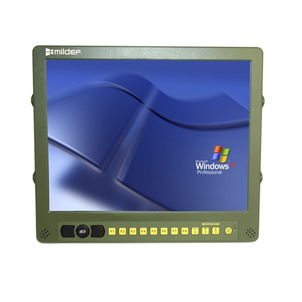 Rugged millitary display RD15 - MilDef, global supplier of