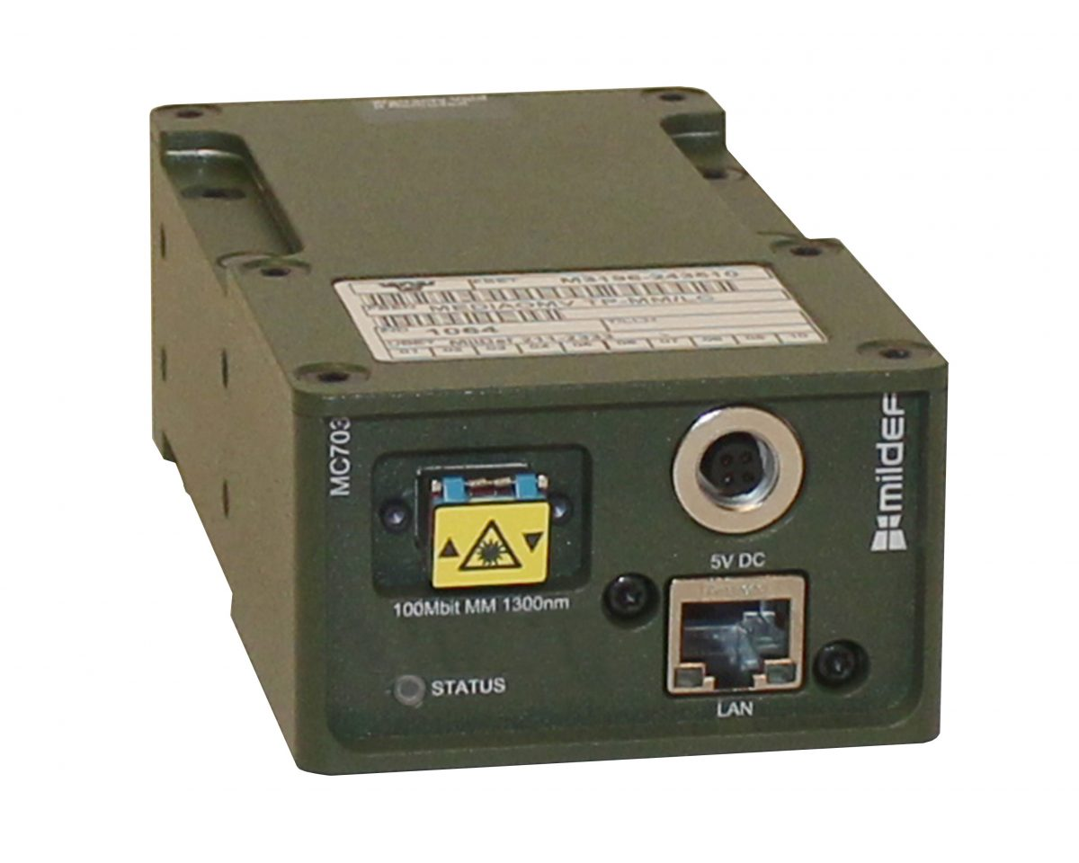 Rugged Millitary Gigabit Ethernet Media